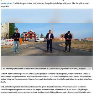 Eschacher_Baugebiet_Uebergabe